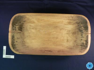 Bowl, Butter-Working; Paddle, Butter