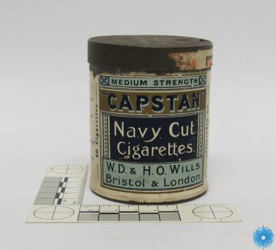 Tin, Cigarette