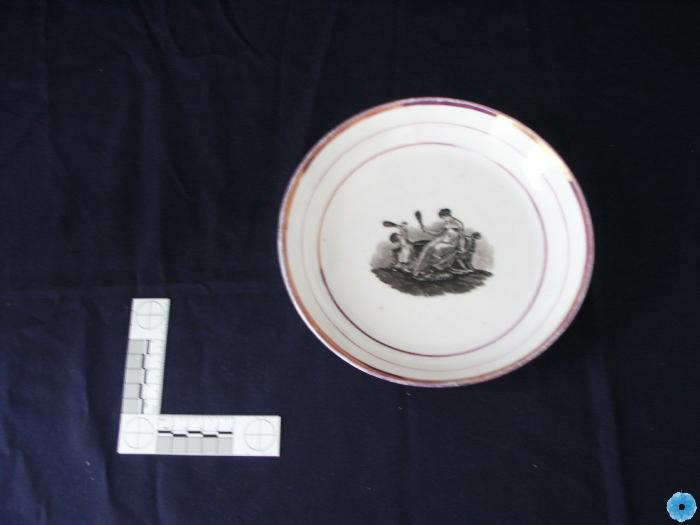 Dish, Commemorative