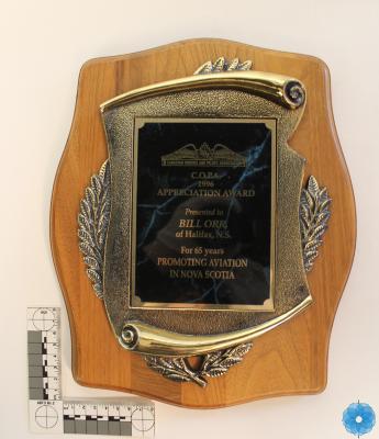 Plaque, Award