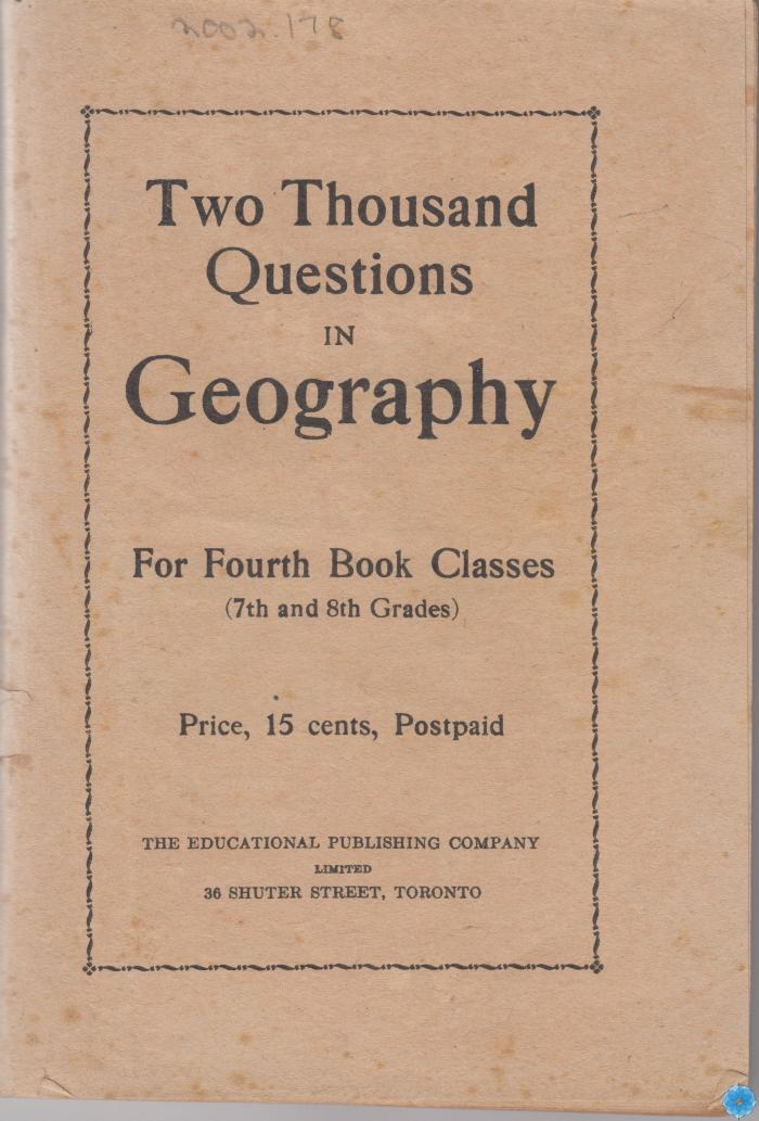 2000 Questions in Geography
