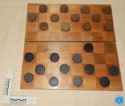 Board, Checkers