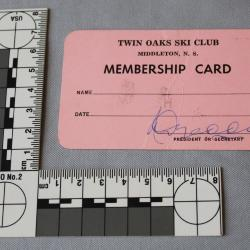 Card, Membership