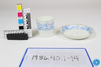 Set, Cup and Saucer