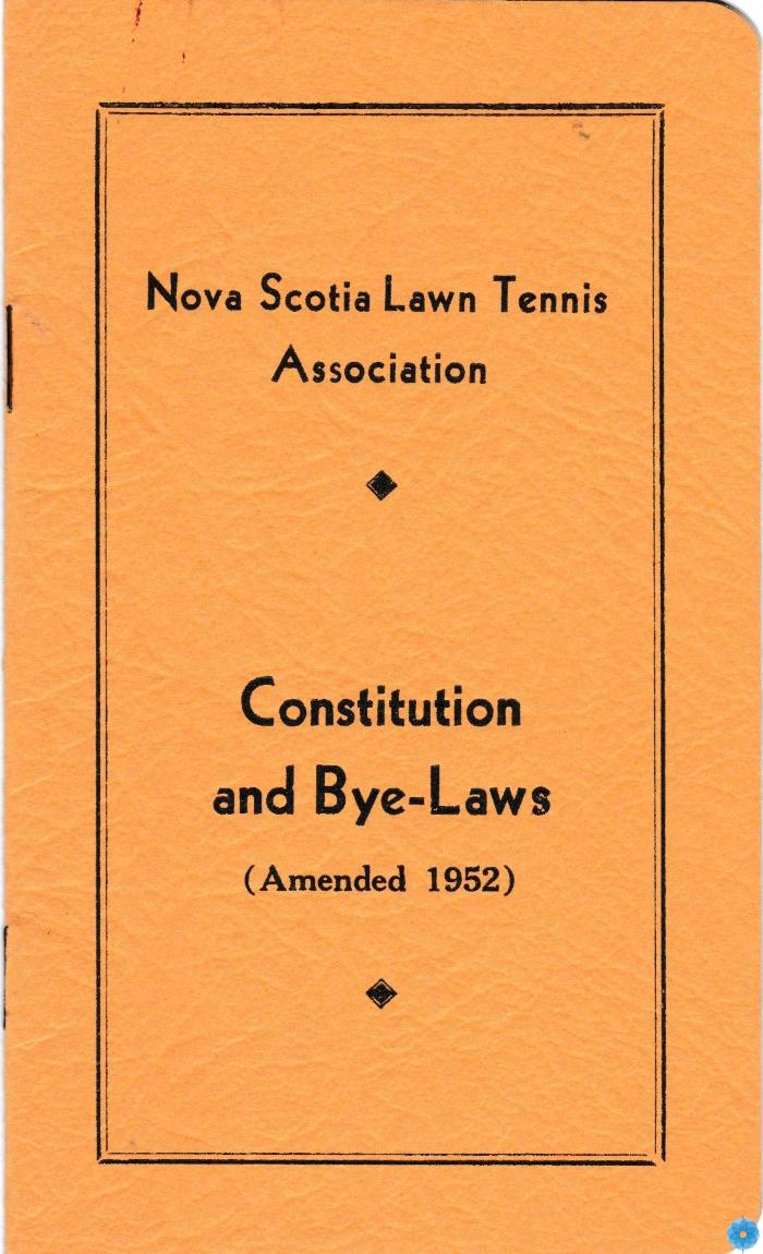 Constitution; Bylaws