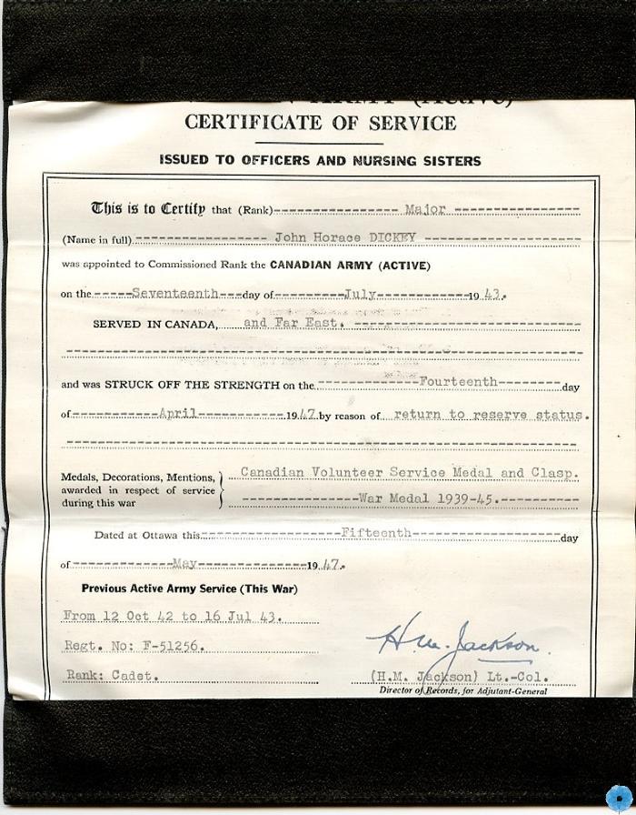 Record, Service
